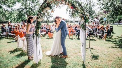 Un mariage sous le soleil des champs Delaunay