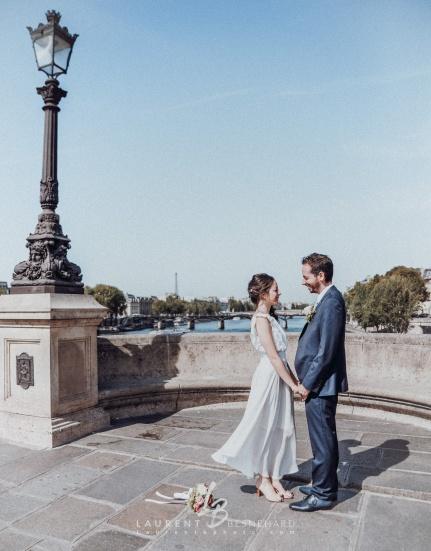 Une petite séance couple sur les ponts de Paris...